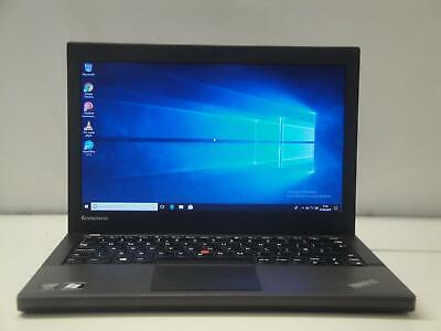 Lenovo ThinkPad X240 Laptop Windows 10 Core i5-4300U 8Gb 256Gb SSD Webcam