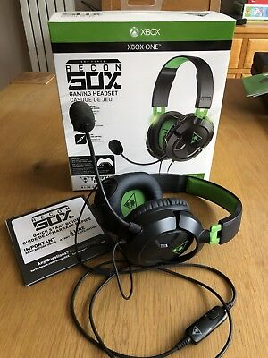 Turtle Beach Xbox One Ear Force Recon 50X Gaming Headset