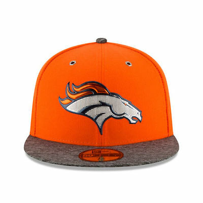 4fecf0c99c4 Denver Broncos New Era NFL Draft On Stage 59FIFTY Fitted Flat Bill Men s Hat  Cap