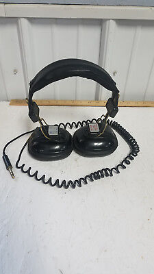 Sony DR-7A Stereo Headphones Vintage Adjustable