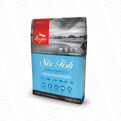 ORIJEN Cat 6-Fish pour chat  	5,4 kg