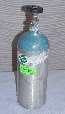 10 lb ALUMINUM CO2 Cylinder Tank LUXFER 3AL1800 As-Is Needs Inspection