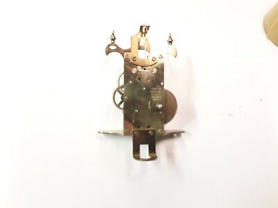 400 DAY CLOCK MOVEMENT S.HALLER 1960's SPARES OR REPAIR ONLY