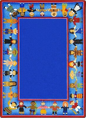IncStores Joy Carpets Children of Many Cultures Kids Rug