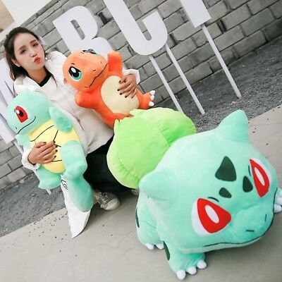 Hot Pokemon Charmander Squirtle Bulbasaur Soft Plush Stuffed Dolls Toy Xmas Gift