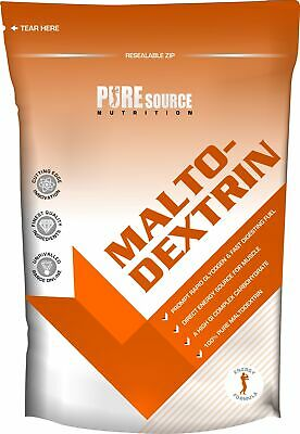 Maltodextrin Pure Carbs Carbohydrate Powder - Energy Fuel Glycogen PSN