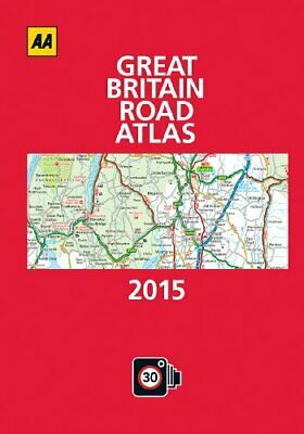 AA Great Britain Road Atlas 2015 Hardback by AA Publishing Book The Cheap Fast