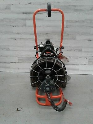 """Used General Speed Drain Rooter 92 3/4""""x 100' Autofeed Sewer Snake Pipe Cleaner"""