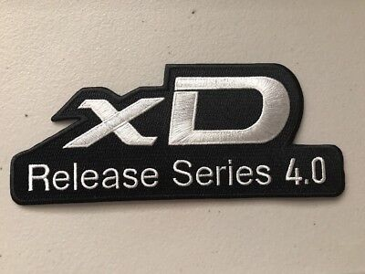 Scion xD Release Series 4.0 High-Quality Embroidered Toyota TRD Patch XD xd V2
