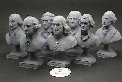 USA Founding Fathers Bust Collection Art FREE SHIPPING