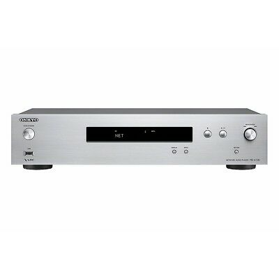 Onkyo NS-6130 Hi-Res Netzwerk-Audio-Player Chromcast Airplay silber