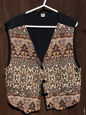 Vintage Tapestry Type Waistcoat Gareth Southgate World Cup Fever