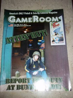 GameRoom Magazine - Jul 2005 Vol.17 No.7  Free Shipping!