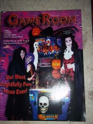 GameRoom Magazine - Oct 2003 Vol.15 No.10 Free Shipping!