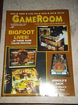 GameRoom Magazine Jul 2003 Vol 15. No 7. Free Shipping!