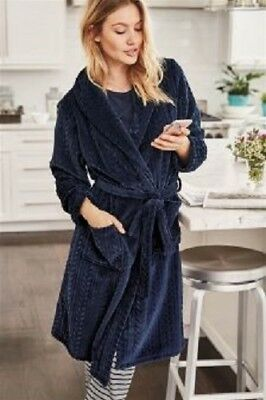 Next Dressing Gown Robe Size Med Red Robe 12 14 Eur 2128