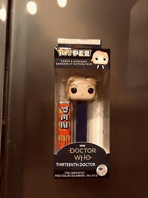 Funko Pez Doctor Who Thirteenth Doctor Candy Dispenser