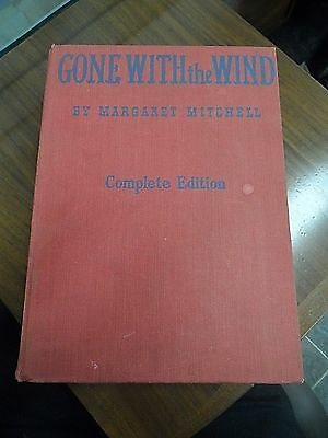 Gone With The Wind By Margaret Mitchell Complete Edition 1940
