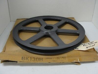 Browning Pulley, BK130H 12.75 in. O.D. x 1 7/16 in. shaft.