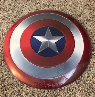 "12"" Marvel Captain America METAL Shield"
