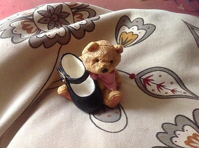 Just The Right Style Mary Jane Teddy Trinket Holder, Used