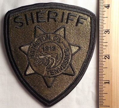 Hamilton County Tennessee Sheriff Patch (Highway Patrol, Sheriff, Ems)