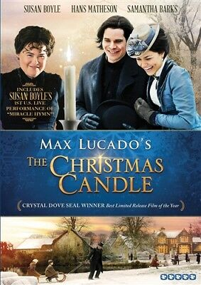 MAX LUCADO'S THE CHRISTMAS CANDLE New Sealed DVD