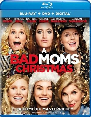 A BAD MOMS CHRISTMAS New Sealed Blu-ray + DVD