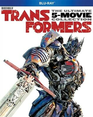 TRANSFORMERS THE ULTIMATE FIVE MOVIE COLLECTION New Sealed Blu-ray 1 2 3 4 5