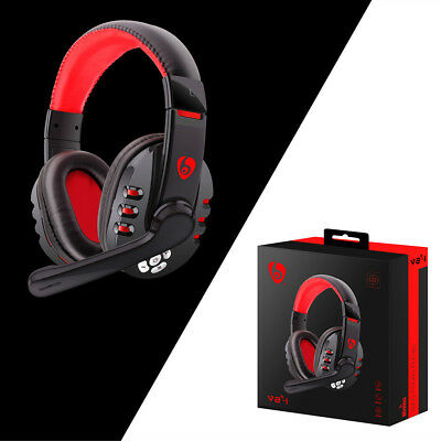 BT Wireless Gaming Headset Headphones with Microphone for PC/Cell Phones