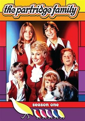 THE PARTRIDGE FAMILY SEASON 1 ONE Sealed New 2 DVD Set