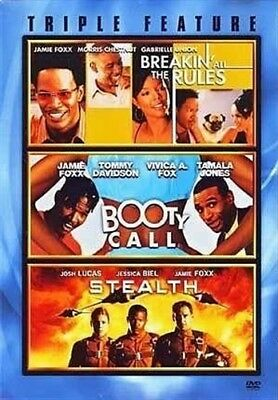 JAMIE FOXX TRIPLE FEATURE New DVD Breakin All the Rules + Booty Call + Stealth