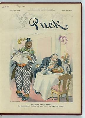 Photo of Puck,Eat,Drink,and be merry,1912,Glackens,Christmas,Entertainers
