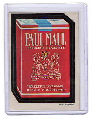1973 Topps Wacky Packages 1St Series ~Paul Maul~ O.p.c