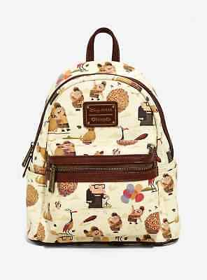 NWT Loungefly Disney Pixar Up All Over Print Backpack Bag Purse