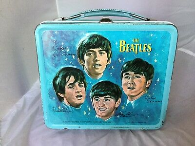 1965 Beatles Lunchbox - Good Condition