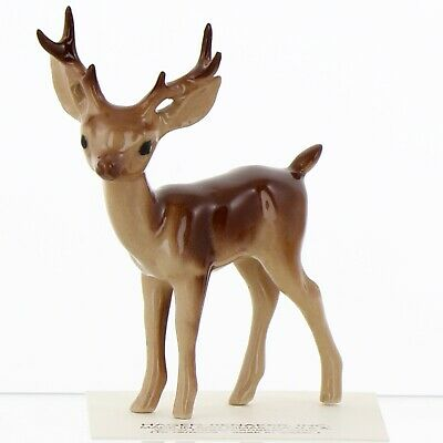 Stag Standing Miniature Deer Figurine Wildlife Model USA made by Hagen-Renaker