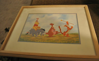 Disney Winnie the Pooh Magical Moments 11X14 Framed Print Picture Tigger Piglet