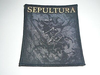 Sepultura The Mediators Woven Patch