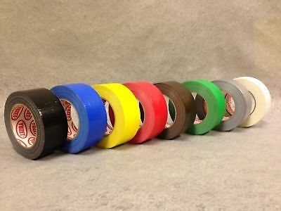 24 Rolls Mixed Yuzet Premium Gaffer tape 50mm x 50m gaffa duct duck cloth tapes