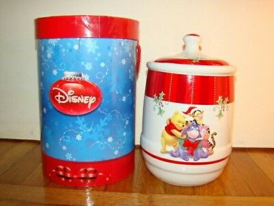 Biscottiera Walt Disney-Winny The Pooh-Pocellana/porcelain- Cookie Jar Biscuit