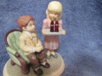 Coca Cola Simpler Days 1998 Share Refreshing Times #538922 Double Figurine