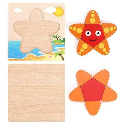 Wood Owls Children's Puzzle Shaped Wooden Peg Puzzle Toy for Kids Toddlers H