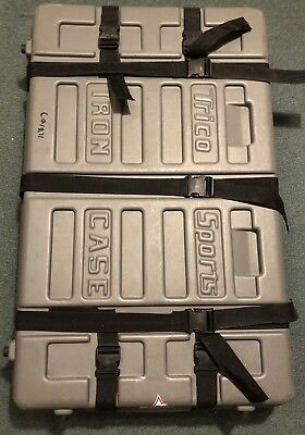 TRICO SPORTS IRON Case Bicycle Shipping/Travel/Cargo - Hard Case - Wheels