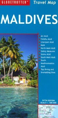 Maldives (Globetrotter Travel Map) by Globetrotter Sheet map, folded Book The