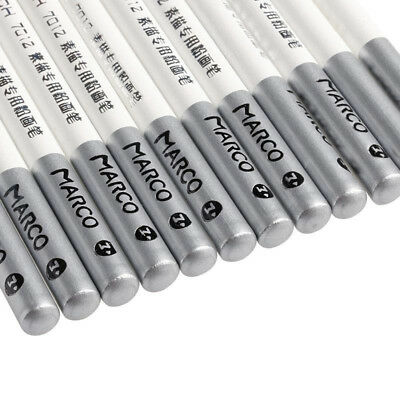 NEW White Pastel Charcoal Drawing Sketch Pencil Art Artist Craft 1/4/12 pcs A33