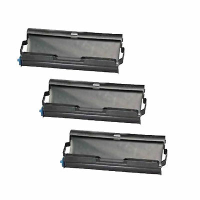 3PK Compatible PC-402RF Fax Ttr Cartridge for Brother PC-401 501 (Pack of 3)