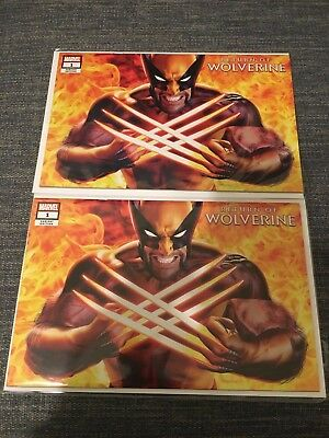 KRS Exclusive Return of Wolverine #1 ( Mayhew Cover) Variant NM+