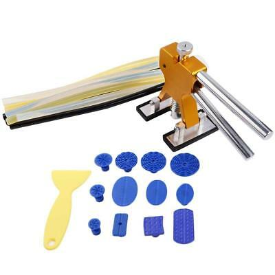 Car Body Dent Lifter Puller Tabs Paintless Dent Repair Hail Removal  Tool Kit