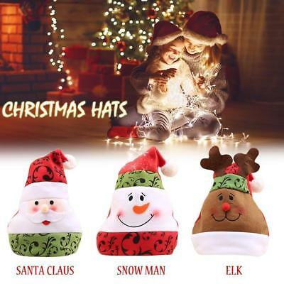 Christmas Hats For Kids.Unisex Kids Adults Christmas Hats Funny Novelty Xmas Santa